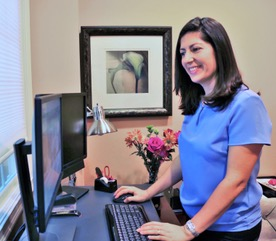 Our office manager or front receptionist can help you figure out the best forms for your visit.