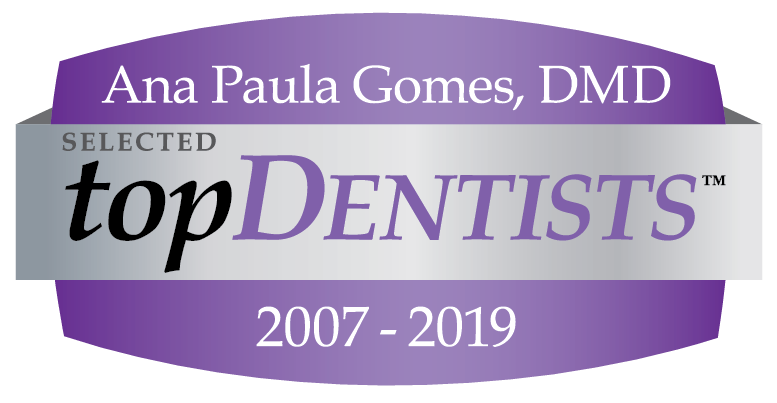 Dr. Gomes at The Elmwood Dental Group LLC Best Dentist award 12 years running