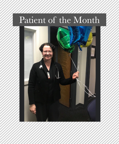 Patient of the month at The Elmwood Dental Group LLC