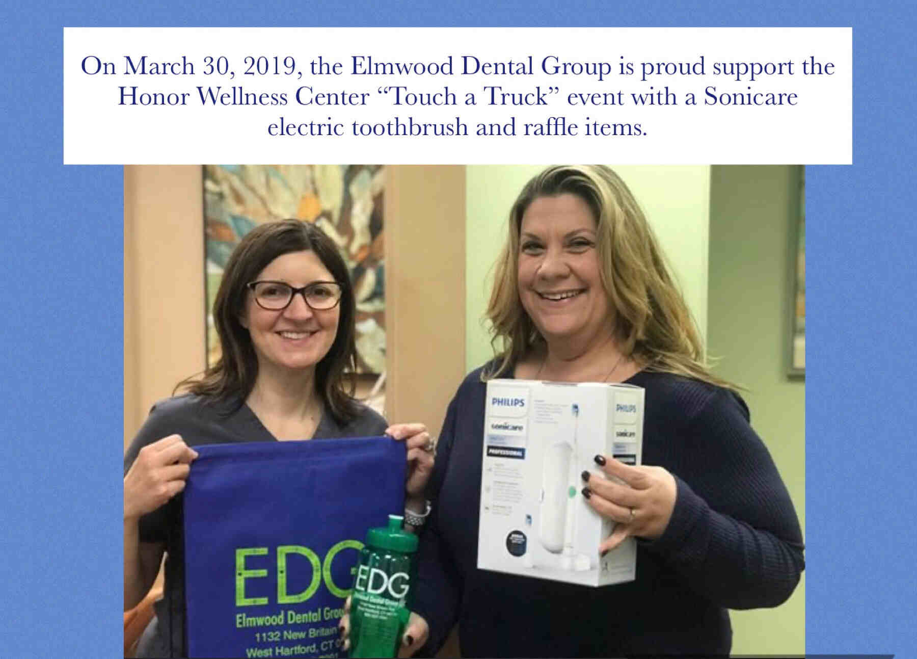 The Elmwood Dental Group LLC Community Engangement in West Hartford Connecticut